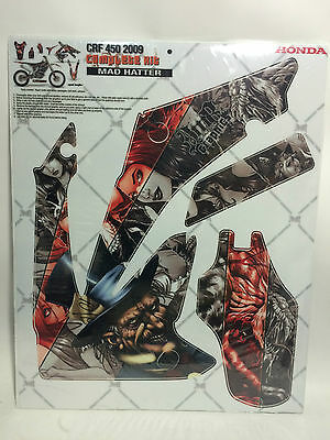 AMR Racing Graphics Decal Kit Sale For Honda CRF 450R 09-12 Wrap  MAD HATTER](Mad Hatter For Sale)