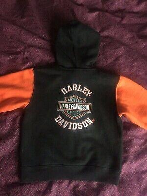Harley Davidson hoodie children's 2 years