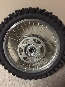 2015 RMZ 450 Excel wheels with studs