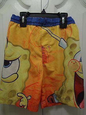 Kids Boy's Niclelodeon Swim Beach Summer Shorts Sz XS SpongeBob Graphic Boys   - Spongebob Boy Shorts