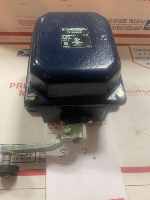SCHMERSAL P/n: 101135027 Safety Limit Switch TA130-30/03Y