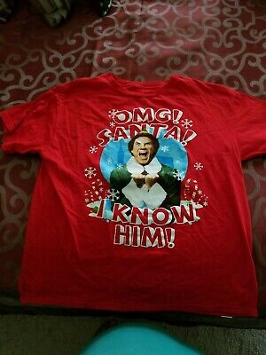 ELF movie Will Ferrell costume SANTA Claus Christmas X-MAS Boys