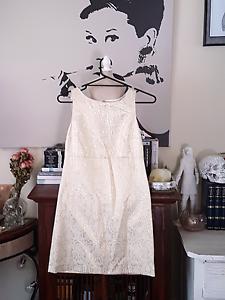 Gold Sportsgirl Dress Size Small/ Size 8 Eden Hill Bassendean Area Preview