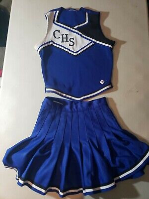 Sporting Goods Real Rms Cdt Cheerleading Uniform Red White Pleated Skirt Jr High School Cheer Keep You Fit All The Time
