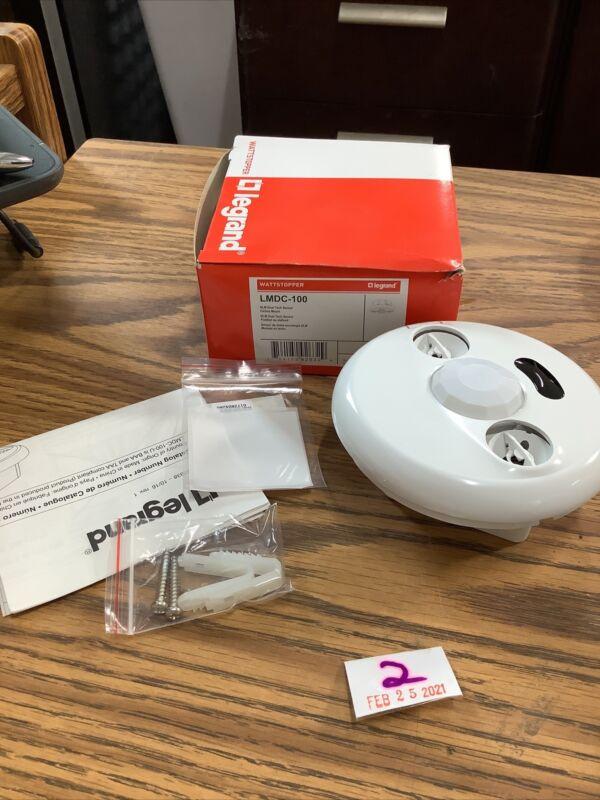Wattstopper LMDC-100 Dual Technology 24 Volt Digital Occupancy Sensor - White