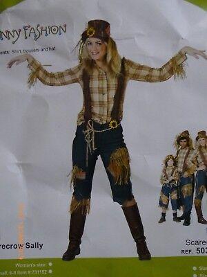 BUTINETTE Fasching Kostüm Faschingskostüm Vogelscheuche Damen 44 46