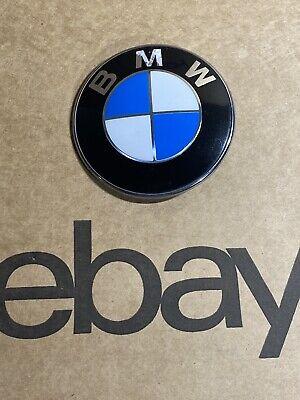 1- 82 mm BMW Emblem Front Hood  Trunk Roundel Badge 1 3 5 6 7 Z Series OEM