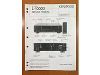 KENWOOD KX-1000D Belt Kit 4 belts}