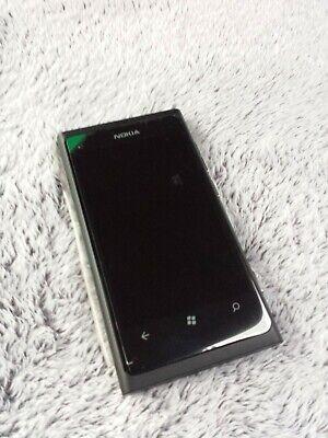 Nokia Lumia 800 Smartphone schwarz wie NEU OVP Handy mobile phone black as new na sprzedaż  Wysyłka do Poland