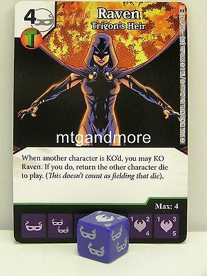 DC Dice Masters - #097 Raven Trigon's Heir - War of Light