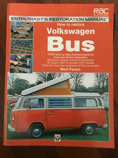 How to Restore Volkswagen Bus - by Mark Paxton