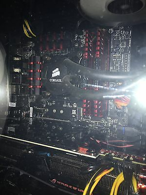 Intel i7 4790k+Z97 Gaming5 ATX motherboard,Corsair Vengeance 16GB DDR3 RAM Combo