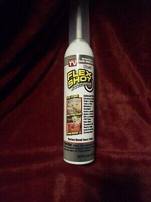 Flex Shot Clear Rubber Sealant 8oz