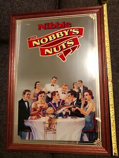 Collectable Bar Mirror Nobby's Nuts