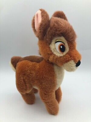 Small Bambi Walt Disney Gund Brown Deer Plush Kids Soft Stuffed Toy Animal Doll