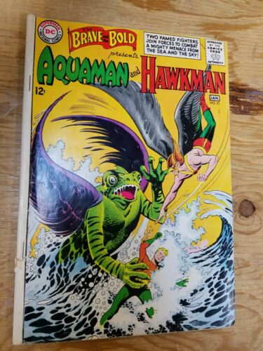 Brave and the Bold #51 Aquaman and Hawkman
