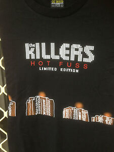 THE KILLERS Mr BRIGHTSIDE PRINTED ON FRONT AND BACK  BLACK SHORT SLEEVE