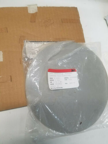 3M 668X Imperial Diamond Lapping Film Disc - 8 in Dia 0.1 micron, 3 mil, PSA