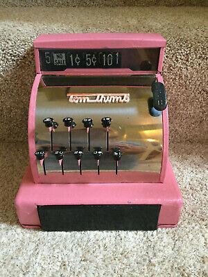 Vintage 1960's Pink Tom Thumb Metal Cash Register, used for sale  Aurora