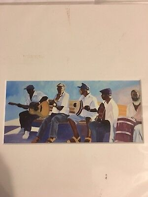"Fine Art Print 12x14 Giclee Signed Jazz Music Bass ""boys Of Carriacne"" (12 X 14 Fine Art)"