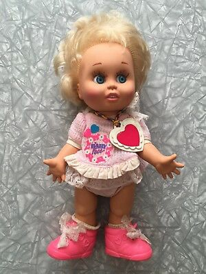 1990 Baby Face Doll Galoob LGTI #7 So Innocent Cynthia diaper shoes vintage 90's for sale  Kitchener