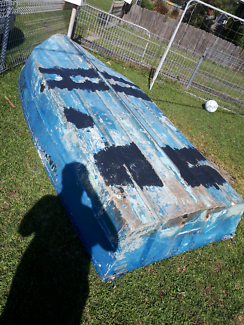 12ft tinny boat rough condition cheap