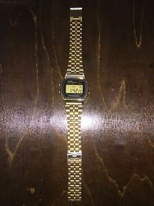 Casio Digital Watch - Gold - $40 Melbourne CBD Melbourne City Preview