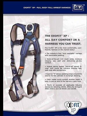 Brand New Dbi-sala Exofit Xp Full Body Safety Harness Medium Mod 098-1110226