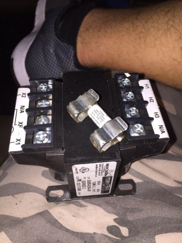 Micron Control Impervitran Transformer CAT#  B050TZ18XK  NSN: 5950-01-176-4388