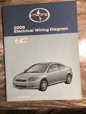 2009 Scion TC OEM Dealer Shop Electronic Wiring Diagram ...