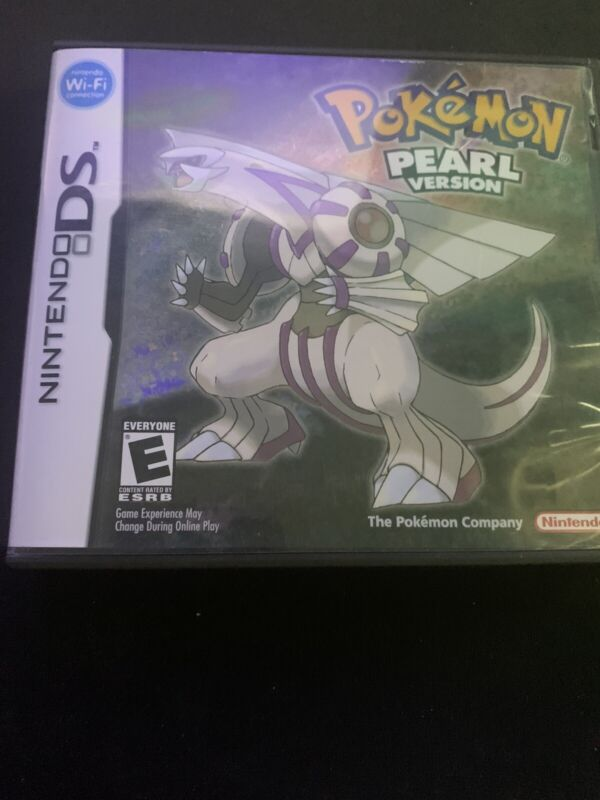 Pokemon Pearl Version CASE ONLY **NO GAME INCLUDED**