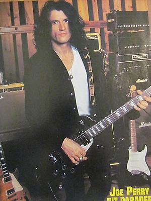 Aerosmith, Joe Perry,  Full Page Vintage Pinup