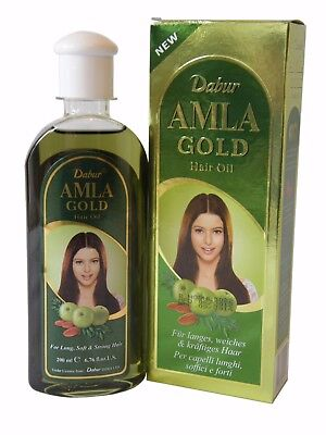 Dabur Amla GOLD Hair Oil 200ml Gooseberry Herbal