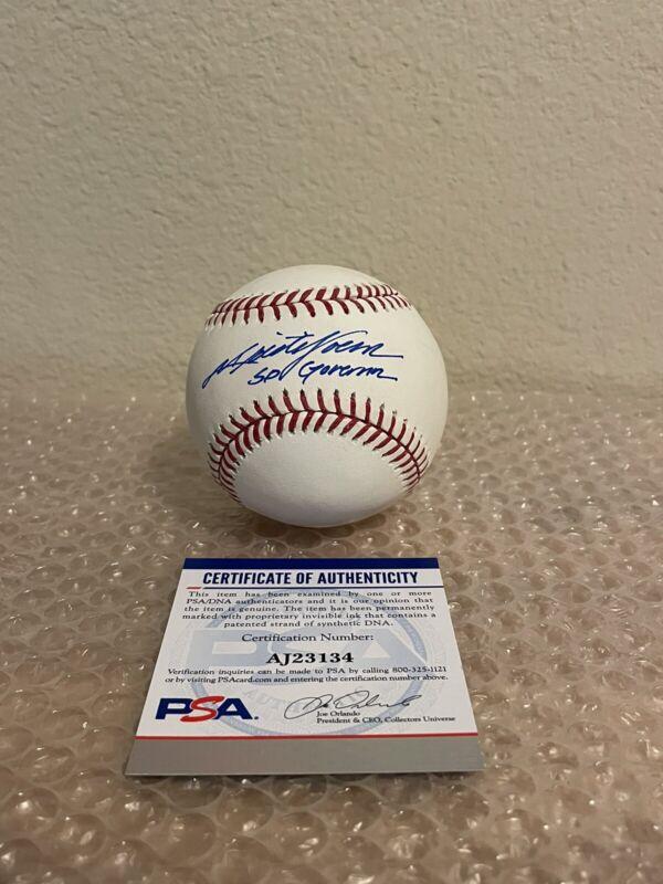 Kristi Noem Signed Baseball PSA/DNA Coa Rare South Dakota Governor 2024