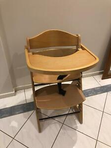 Mocka wooden high chair