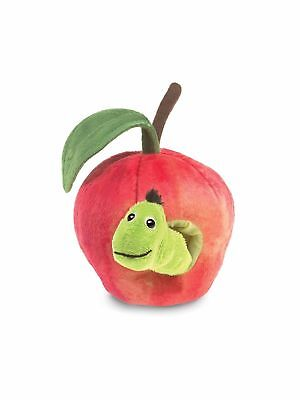 Folkmanis High Quality Finger Puppets (Worm in Apple) ()