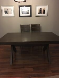 Beautiful rustic dining set from home outfitters
