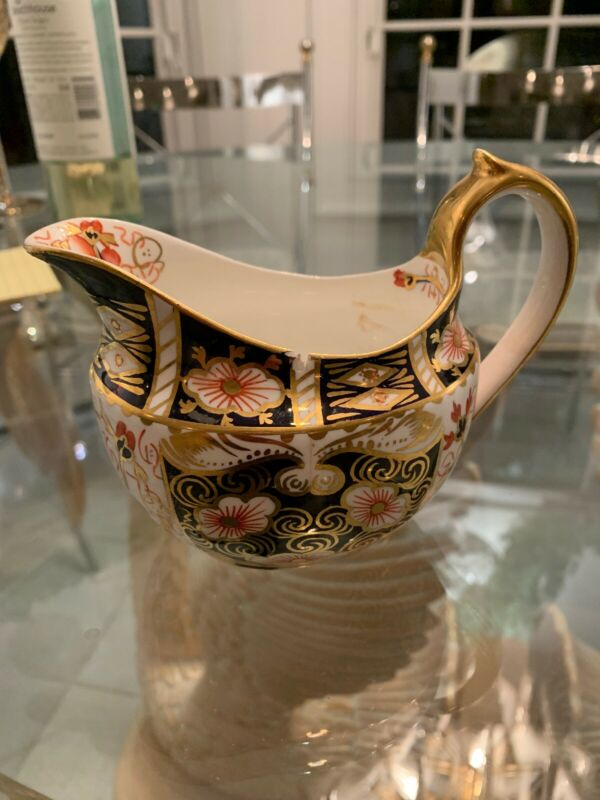 Tiffany Royal Crown Derby Creamer