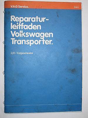 VW T2 T3+syncro+Multivan+Joker  2,0L Motor+Vergaser+Schalplan Reparaturanleitung
