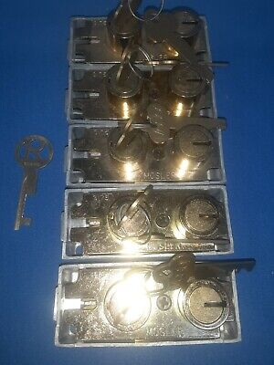 5 Mosler 3175 New Safe Deposit Locks