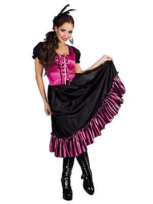 Kostüm Saloon Girl Poker Alice Westerngirl Fasching