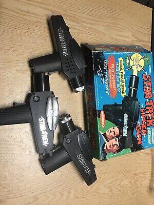 Old Vtg 1975 Remco Official Star Trek Phaser Toy Gun Guns In Original Box  ()