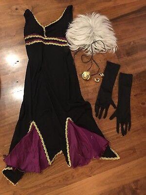 Adult The Little Mermaid Handmade Ursula Costume Size Small](Ursula Little Mermaid Costume)