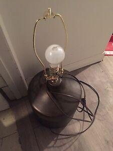 Bedside lamp $5