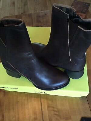 Fly London Womens Jado533 Fly Ankle Boots Size 3 - Brown - New Beautiful Boots.