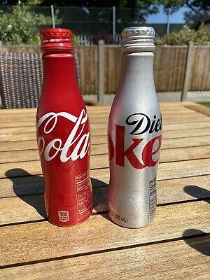 Coca-Cola Aluminium Bottles 2012/14 Unopened