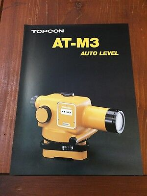 Topcon At-m3 Auto Level Brochure Surveyor