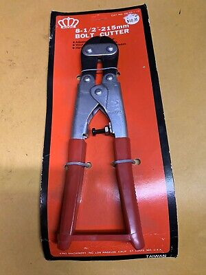 8-12 Bolt Cutter Multi-purpose Hand Bolt Wire Cutters Nos King Tools
