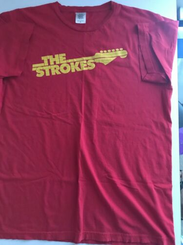 2006 The Strokes tour shirt, Red, worn, XL In great condition