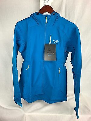 New Arcteryx Psiphon Fl Hoody Jacket Mens Small S Macaw Blue Softshell Dwr